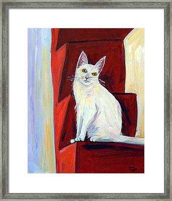 Abigail Framed Print by Terry Taylor
