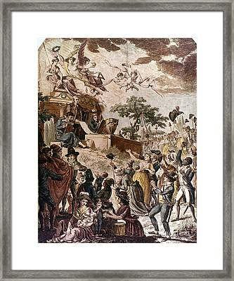 Abolition Of Slavery, 1794 Framed Print by Granger