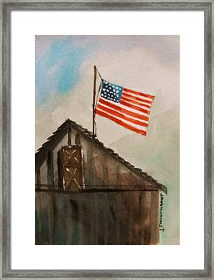 Above All Framed Print by John Williams