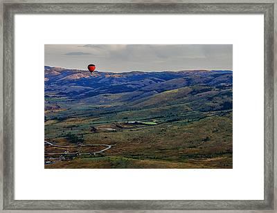 Above Framed Print by Rick Berk