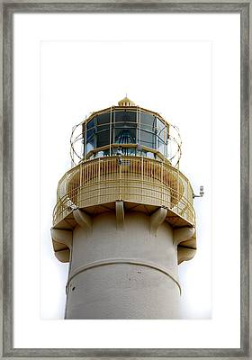 Absecon Light Room Framed Print by Skip Willits