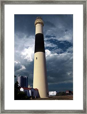 Absecon Lighthouse Framed Print by Skip Willits