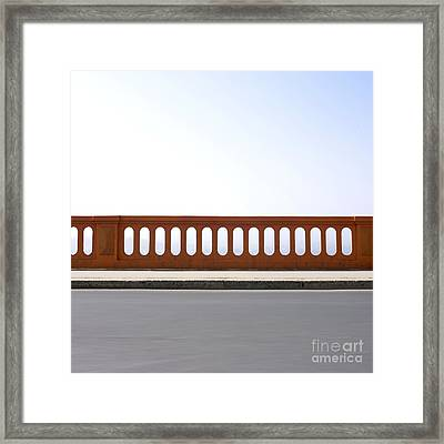 Absence Framed Print by Bernard Jaubert