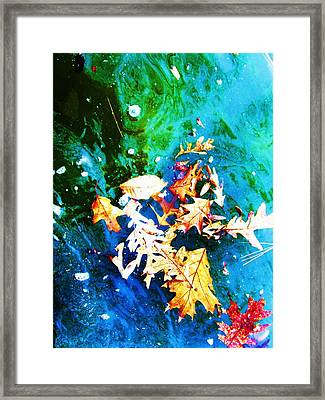 Abstract-11 Framed Print by Todd Sherlock