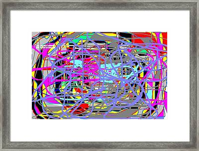 Abstract 17 Framed Print by Jerry Conner
