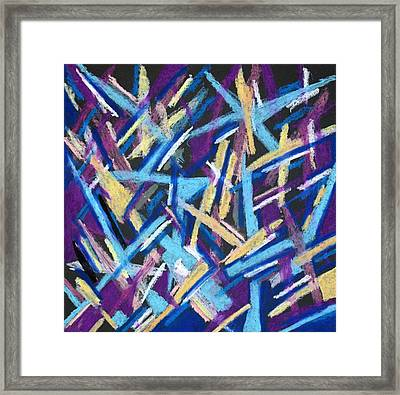 Abstract 2 Framed Print by Sandra Conceicao