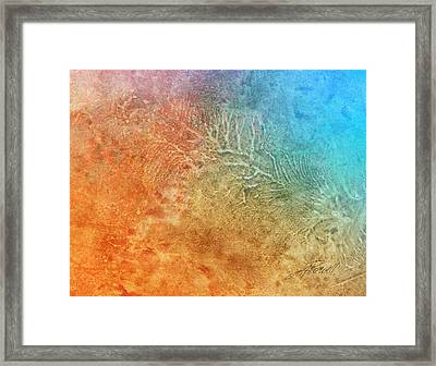 Abstract 205 Framed Print by Ann Powell