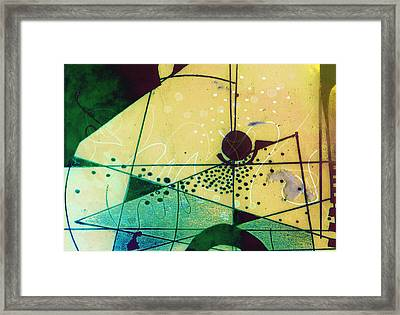 Abstract 209 Framed Print by Ann Powell