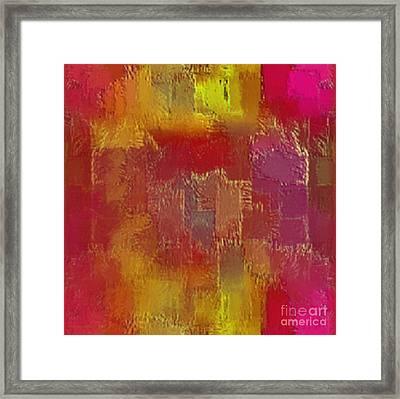 Abstract 258 Framed Print by John Krakora