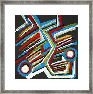 Abstract 3 Framed Print by Sandra Conceicao