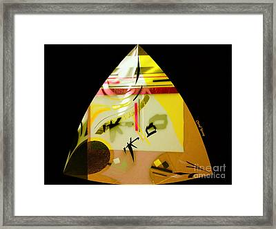 Abstract 31 Framed Print by Cheryl Young