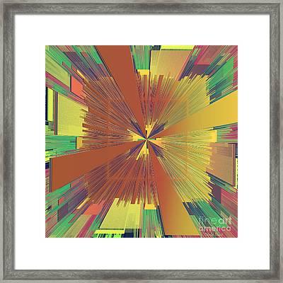 Abstract 4 Framed Print by Deborah Benoit