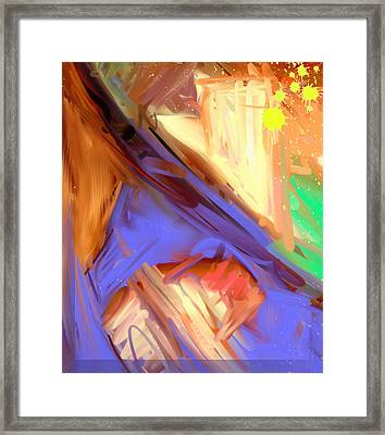 Abstract 4 Framed Print by Snake Jagger