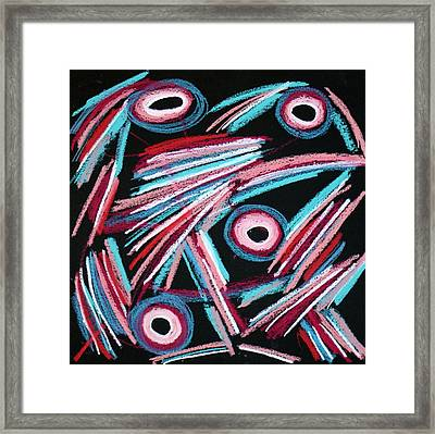 Abstract 5 Framed Print by Sandra Conceicao