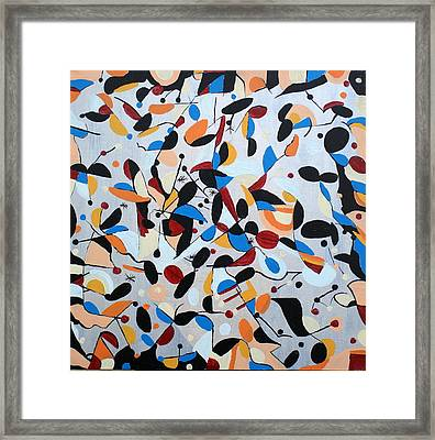 Abstract 50 Framed Print by Sandra Conceicao