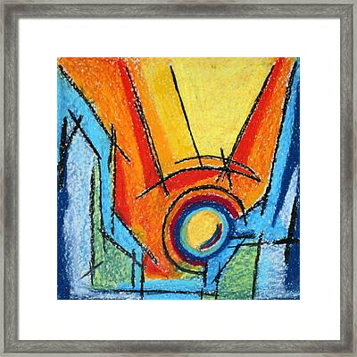 Abstract 52 Framed Print by Sandra Conceicao