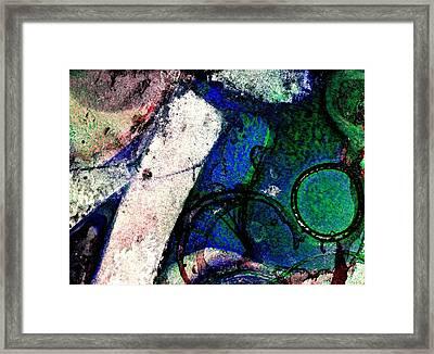 Abstract 56 Framed Print by John  Nolan