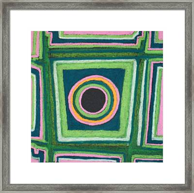 Abstract 56 Framed Print by Sandra Conceicao
