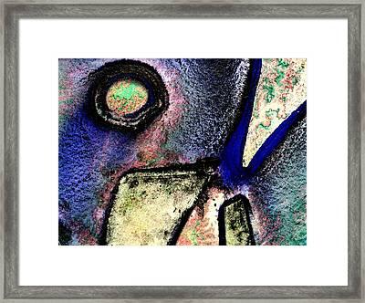 Abstract 58 Framed Print by John  Nolan
