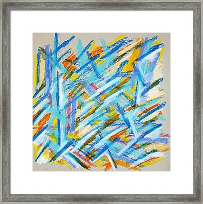 Abstract 58 Framed Print by Sandra Conceicao