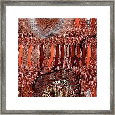 Abstract 769 Framed Print by Nedunseralathan R