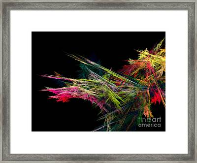 Abstract Approach  Framed Print by Tatjana Popovska