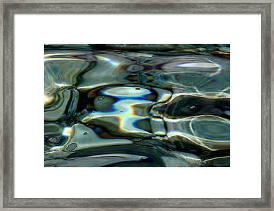 Abstract Bird Framed Print by Arie Arik Chen
