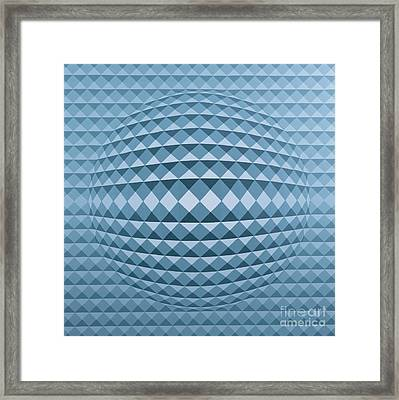 Abstract Composition Framed Print by Peter Szumowski