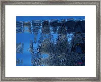 Abstract Flying Trees Framed Print by Colette V Hera  Guggenheim