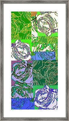 Abstract Fusion 42 Framed Print by Will Borden