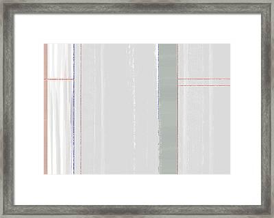 Abstract Light 2 Framed Print by Naxart Studio