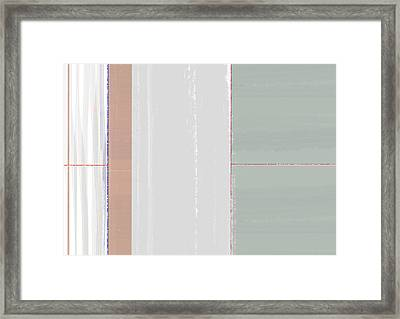 Abstract Light 3 Framed Print by Naxart Studio