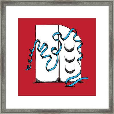 Abstract 'n' Framed Print by Michaela Mitchell