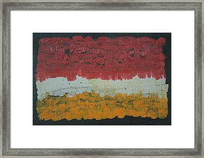 Abstract Number 6 Framed Print by James Johnson
