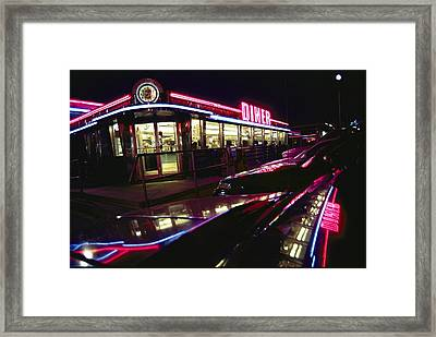 Abstract Reflections In Cars Framed Print by Stephen St. John