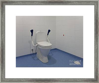 Accessible Toilet Framed Print by Jaak Nilson