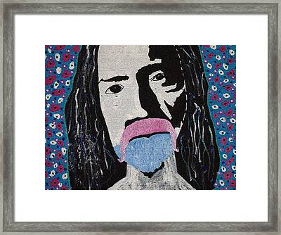 Acid Man Framed Print by Robert Margetts