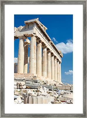 Acropolis Parthenon 3 Framed Print by Emmanuel Panagiotakis