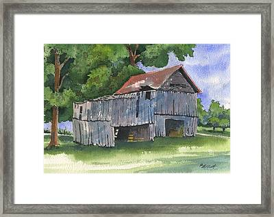Across From Andies Framed Print by Marsha Elliott