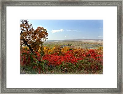 Across The Big Muddy Framed Print by Marty Koch