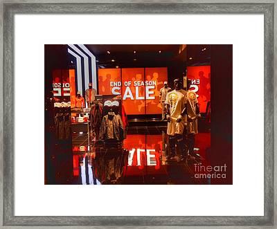Adidas Framed Print by David Bearden