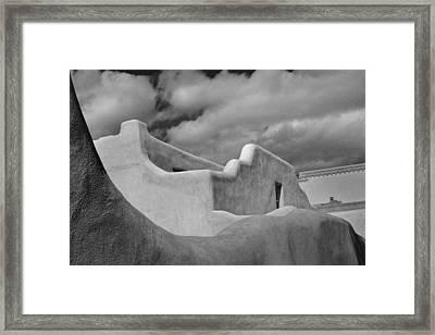 Adobe Framed Print by David Kelly