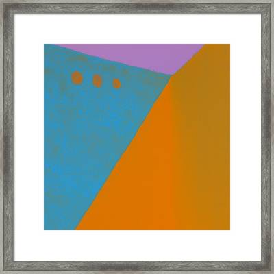 Adobe Walls Number 2 Framed Print by Carol Leigh