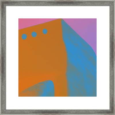 Adobe Walls Number 4 Framed Print by Carol Leigh