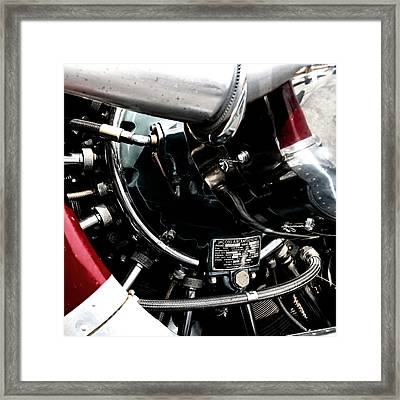 Aero Machine 6 Framed Print by Nathan Larson