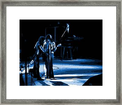 Aerosmith In Spokane 12a Framed Print by Ben Upham