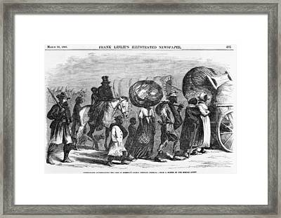 African Americans, Now Freedmen Framed Print by Everett
