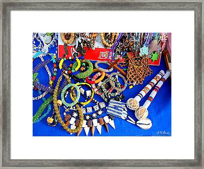African Dreams Framed Print by Michael Durst