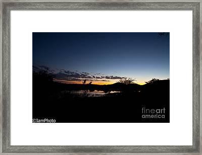 African Sunset  Framed Print by Isabel Laurent