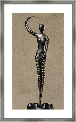 African Venus Framed Print by Robert Hartl